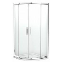 KOLO Geo 6 EASY čtvrtkruhový sprchový kout 90x90 cm, čiré/stříbrná WKPG90222003