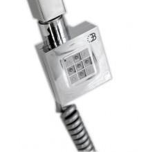 SAPHO topná tyč s termostatem, 300W, Chrom KTX-C-300