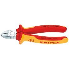 KNIPEX - kleště štípací stranové 160, potah PVC do 1000 V 7006160