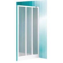 ROLTECHNIK Sprchové dveře skládací LD3/800 bílá/damp 215-8000000-04-04