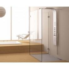 TEIKO NSSR2 sprchová stěna 100 x 100 x 200 cm, čiré sklo, levá V334100L52T70013