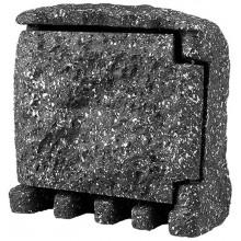 PANLUX STONE 4Z zahradní elektro- kámen (4x zásuvka, s přívodním kabelem) - šedá PN42000001