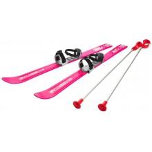 PLASTKON Lyže Baby Ski 90 cm 2012 růžová