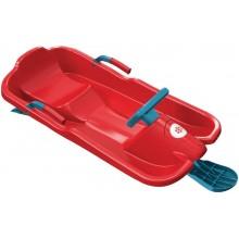 PLASTKON Řiditelné boby SkiBob červená