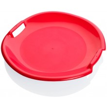 PLASTKON Sáňkovací talíř Tornado červená