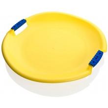 PLASTKON Sáňkovací talíř Tornado Super žlutá