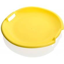 PLASTKON Sáňkovací talíř Tornado žlutá