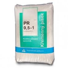 Filtrační písek 25 kg PR 0,6 - 1,2 PAP 25