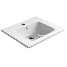 SAPHO PURA keramické umyvadlo 60x50 cm, ExtraGlaze 8831111