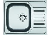 Franke Polar PXN 611-60, 615x490 mm, nerezový dřez + sifon 101.0286.040