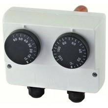 REGULUS Termostat prov. zakryt. na jímku dvojitý 0-60/30-120°C 10782
