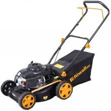 Riwall PRO RPM 4218 P - travní sekačka 2 v 1 s benzinovým motorem bez pojezdu PM11B1801077A