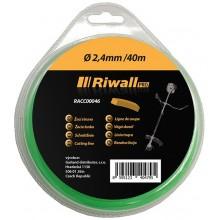 Riwall PRO Žací struna pr. 2,4mm, délka 40m, čtvercový průřez RACC00046