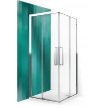 ROLTECHNIK Sprchové dveře posuvné ECS2P/1200 černý elox/transparent 560-120000P-05-02