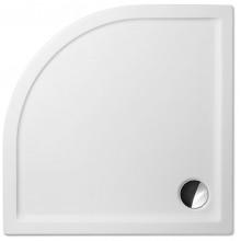 ROLTECHNIK Čtvrtkruhová sprchová vanička FLAT ROUND/900 8000116