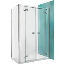 ROLTECHNIK Sprchové dveře dvoukřídlé GDN2/1200 brillant/transparent 138-1200000-00-02