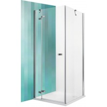 ROLTECHNIK Sprchové dveře jednokřídlé GDOL1/800 brillant/transparent 132-800000L-00-02