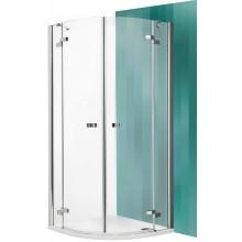 ROLTECHNIK Čtvrtkruhový sprchový kout GR2/800 brillant/transparent 131-8000000-00-02