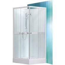 ROLTECHNIK Sprchový box čtvercový SIMPLE SQUARE/900 bílá/transparent 4000693