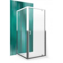ROLTECHNIK Boční stěna LLB/800 brillant/transparent 553-8000000-00-02
