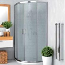 ROLTECHNIK Čtvrtkruhový sprchový kout s dvoudílnými posuvnými dveřmi LLR2/800 brillant/grape 555-8000000-00-11