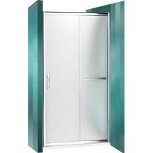 ROLTECHNIK Sprchové dveře posuvné PXD2N/1200 brillant/satinato 526-1200000-00-15