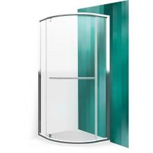 ROLTECHNIK Čtvrtkruhový sprchový kout s jednodílnými otevíracími dveřmi PXRO1/900 brillant/transparent 539-9000000-00-02