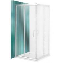 ROLTECHNIK Sprchové dveře posuvné PXS2L/800 brillant/transparent 528-8000000-00-02
