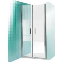 ROLTECHNIK Sprchové dveře dvoukřídlé do niky TCN2/1000 stříbro/intimglass 731-1000000-01-02