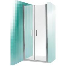 ROLTECHNIK Sprchové dveře dvoukřídlé do niky TCN2/1200 brillant/transparent 731-1200000-00-02