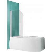 ROLTECHNIK Vanová zástěna oboustranně otevíratelná SCREEN PRO/810 bílá/transparent 4000688
