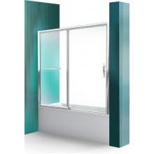 ROLTECHNIK Vanová zástěna s posuvnými dveřmi PXV2L/1600 brillant/transparent 451-160000L-00-02