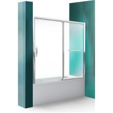 ROLTECHNIK Vanová zástěna s posuvnými dveřmi PXV2P/1700 brillant/transparent 451-170000P-00-02