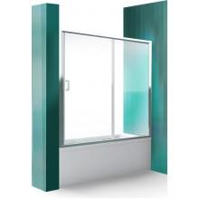 ROLTECHNIK Vanová zástěna s posuvnými dveřmi LLV2/1400 brillant/transparent 572-1400000-00-02