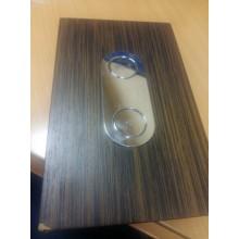 VÝPRODEJ KOLO Chameleon ovládací tlačítko pro instalační modul, wenge Pangar ( Silk ) 94156-002, POŠKOZEN ROH