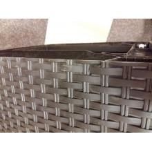 VÝPRODEJ CURVER Zásuvka 3x 14l RATTAN Style - hnědá 06604-210, PRASKLÉ NA SPODNÍ STRANĚ