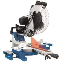 SCHEPPACH HM 140 L pokosová pila s potahem, laserem a oboustranným nastavením náklonu 5901218901