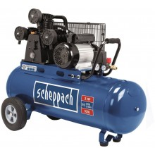 SCHEPPACH HC 550 TC - olejový tříválcový řemenový kompresor 100 l 5906136901