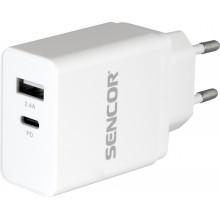 SENCOR SCH 660 PD Nabíječka USB C+USB A 30017060