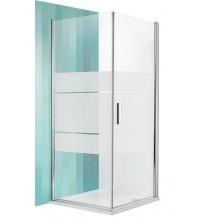 ROLTECHNIK Boční stěna TBL/900 stříbro/intimglass 725-900000L-01-20