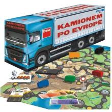 Kamionem po Evropě společenská hra