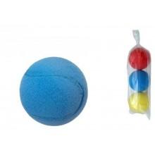 Soft míč na soft tenis pěnový průměr 7cm 3ks v sáčku