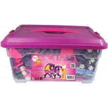 Stavebnice Seva pro holky 1 Jumbo plast 1172ks v plastovém boxu 40030140