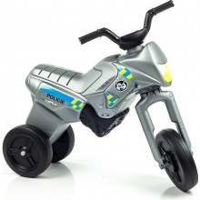 Odrážedlo Enduro Yupee Policie malé, výška sedadla 26cm