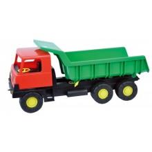 Auto Tatra 815 korba zelená, kabina červená, plast 75cm