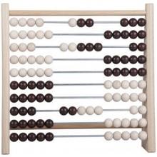 Počítadlo 100 kuliček dřevo/kov