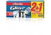 VILEDA Glitzi Crystal 2+1 houbičky na nádobí 148074