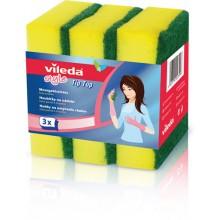 VILEDA Style Tip Top houbička 3 ks 106067
