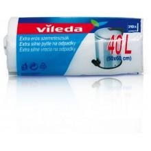 VILEDA Extra silné pytle na odpadky 40 L (15ks) 148031