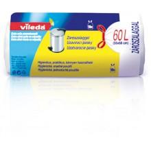 VILEDA Pytle na odpadky 60 L (15ks) – zatahovací 148039